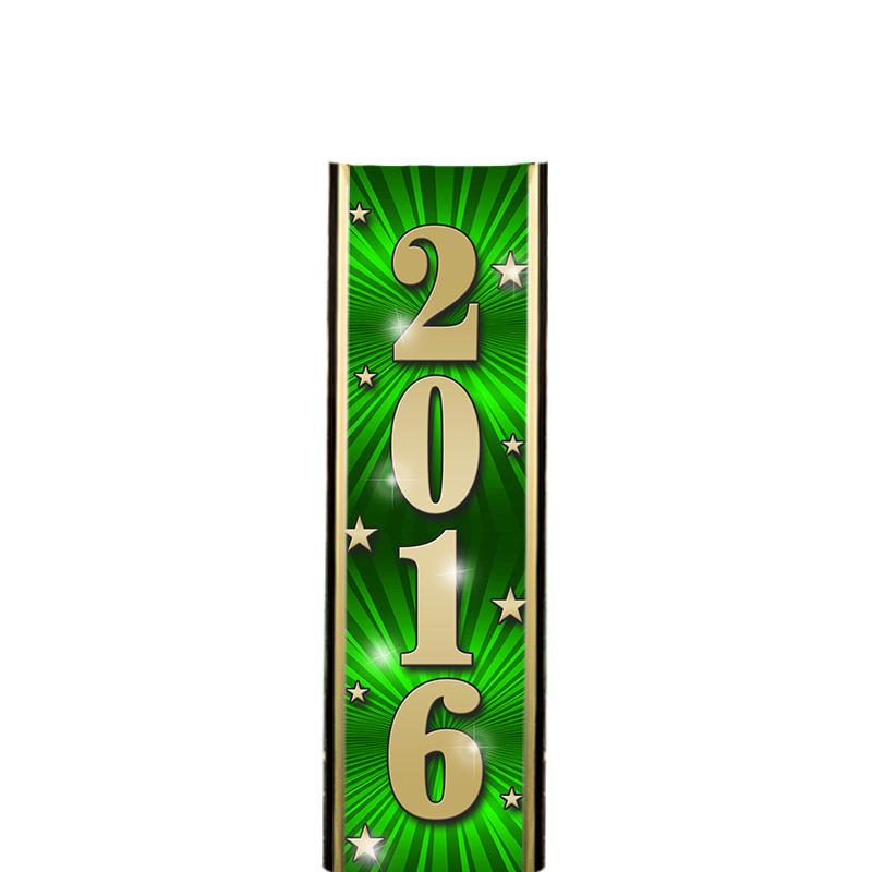 "6"" 2016 GREEN ULTRA MYLAR"