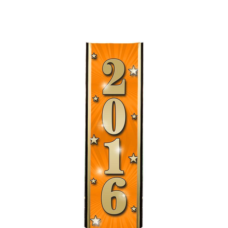 """6"""" 2016 ORANGE ULTRA MYLAR"""