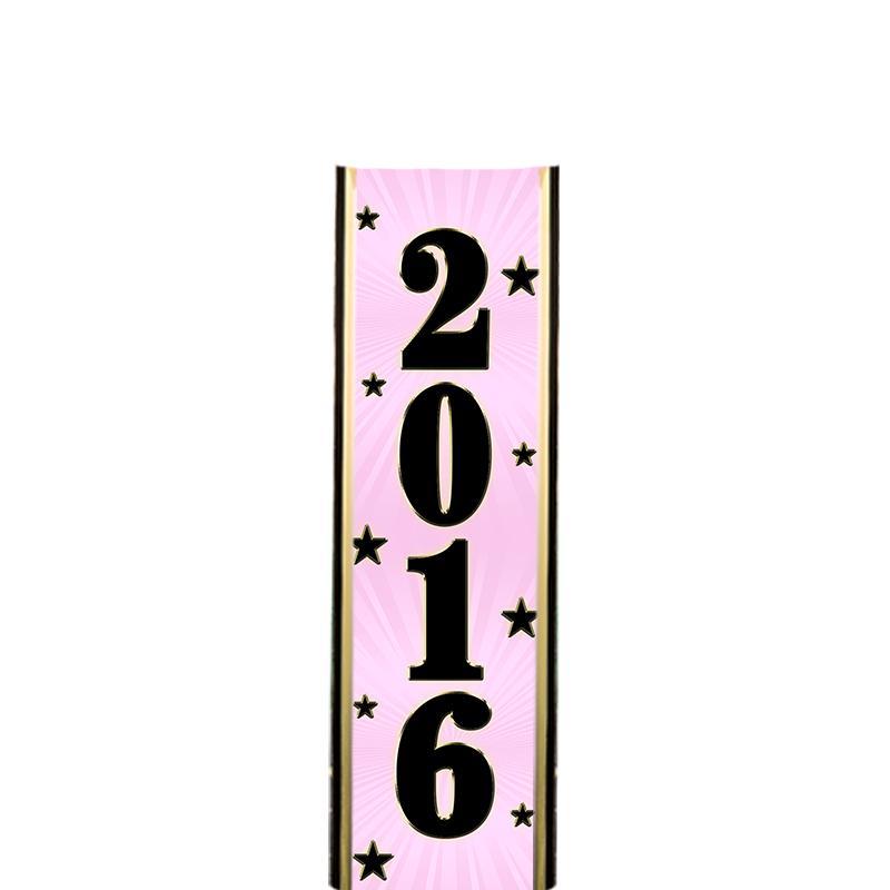 "6"" 2016 PINK ULTRA MYLAR"
