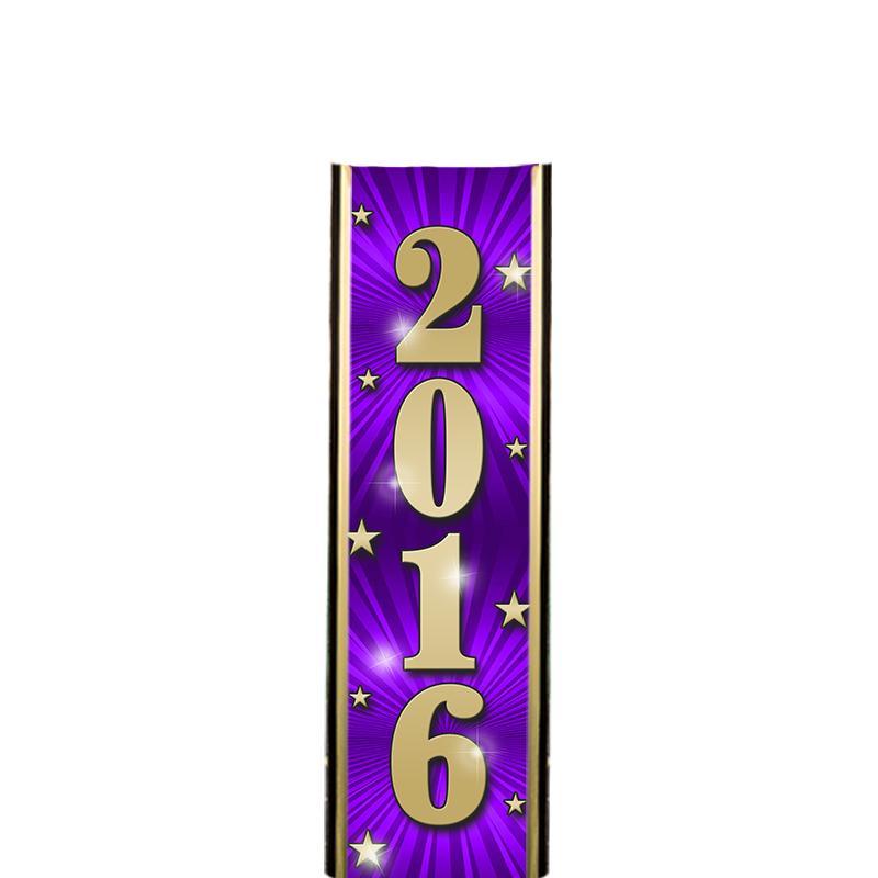 "6"" 2016 PURPLE ULTRA MYLAR"