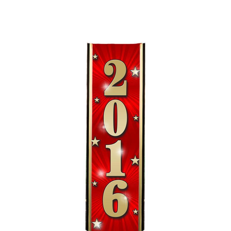 """6"""" 2016 RED ULTRA MYLAR"""