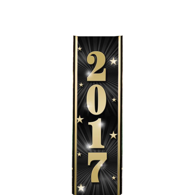 "6"" 2017 BLACK ULTRA MYLAR"