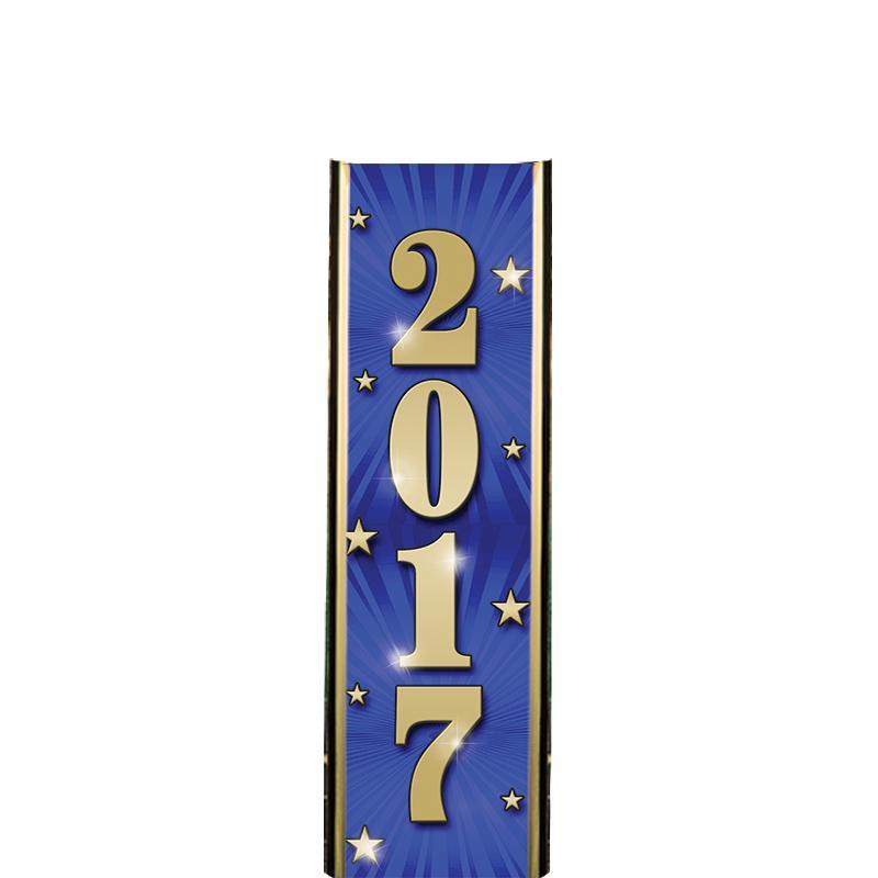 "6"" 2017 BLUE ULTRA MYLAR"