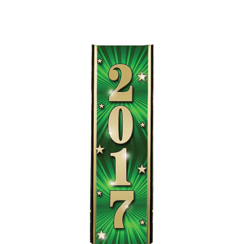 "6"" 2017 GREEN ULTRA MYLAR"