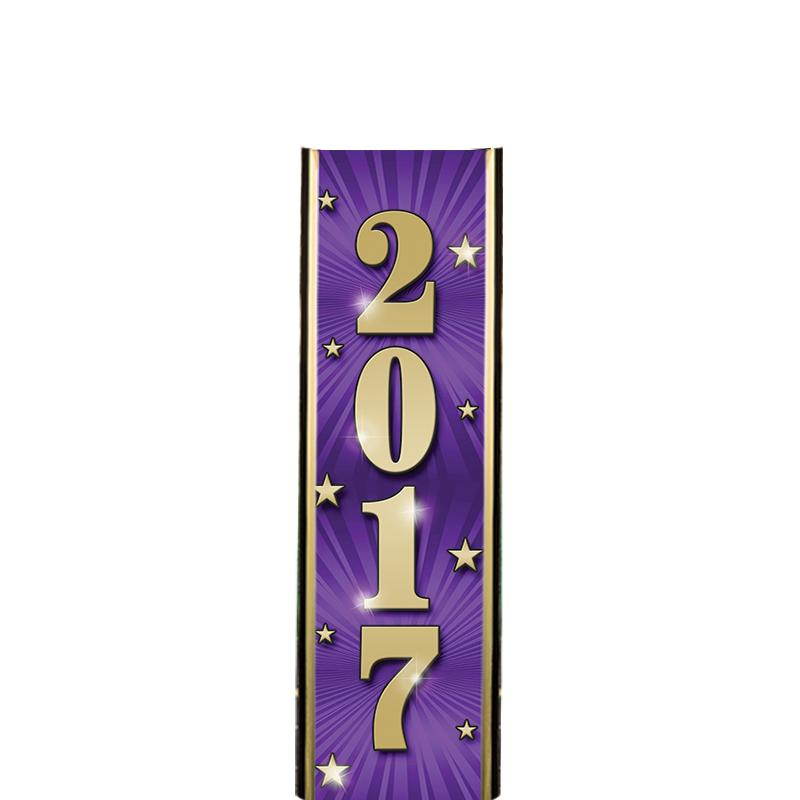 "6"" 2017 PURPLE ULTRA MYLAR"