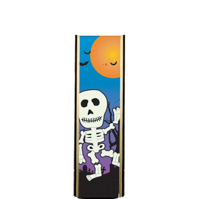"6"" HALLOWEEN SKELETON ULTRA MY"