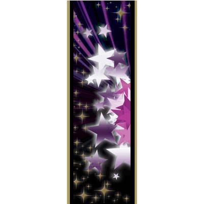 "6"" STAR PURPLE/PINK ULTRA MYL"